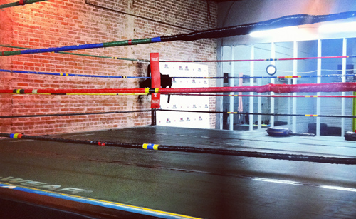 DG Pine St Boxing Ring