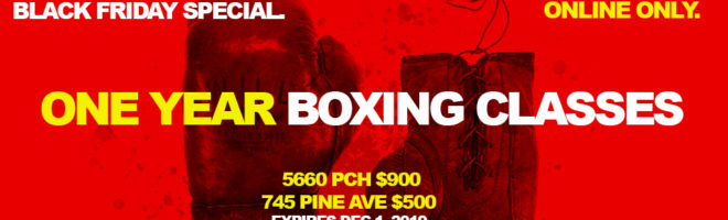 black friday boxing special